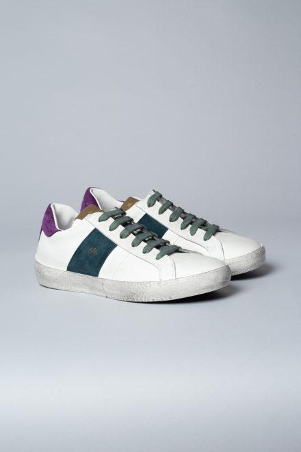 CPH87 vitello white/turquoise/lilac