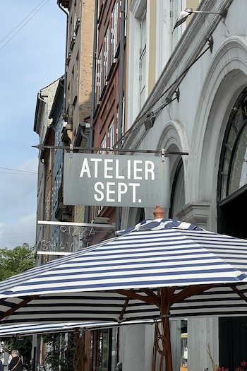 One of the best brunching and breakfast spots in copenhagen is the atelier september in the heart of the city. You can get all day long vegetarian and fresh breakfast.